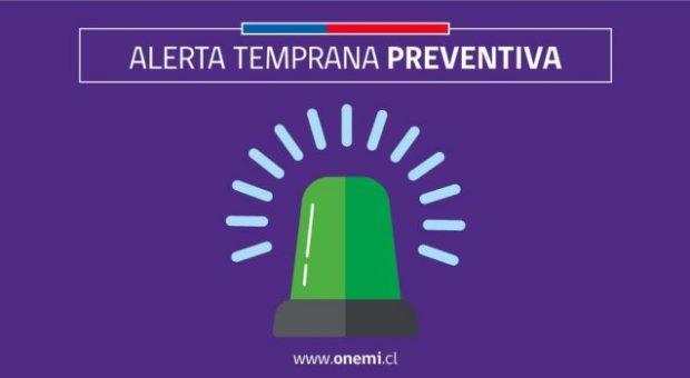 Regional: se declara Alerta Temprana preventiva por bajas temperaturas.