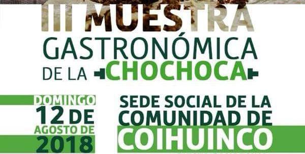 Castro: hoy es la III Fiesta de la Chochoca de Coihuinco.
