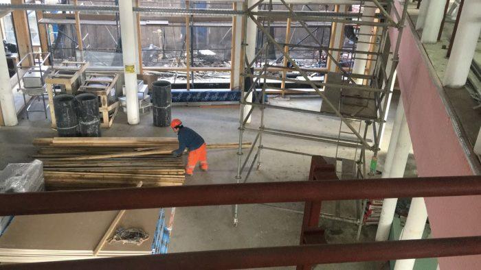 Castro: Alcalde realiza visita inspectiva a obra de construcción de Cecrea.
