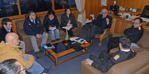 Regional: autoridades analizan protocolo de manejo de la carga del Seikongen entregado por la empresa propietaria de la nave.