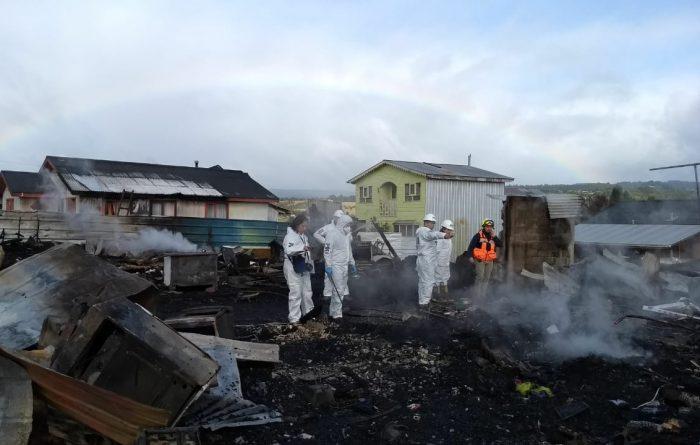 Castro: se realizan peritajes para esclarecer causa de la tragedia ocurrida en Llau Llao.