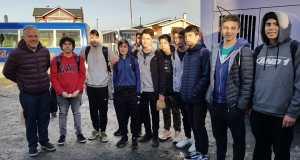 Liceo Galvarino Riveros gana en debut cestero en Salamanca
