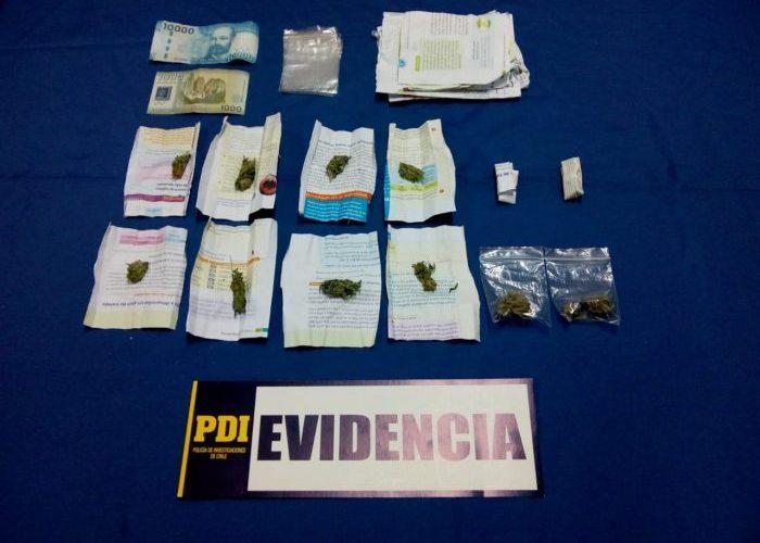 Castro: detienen a joven de 17 años por presunto tráfico de drogas.