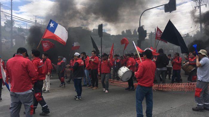 Castro: manifestantes bloquearon acceso a la ciudad.