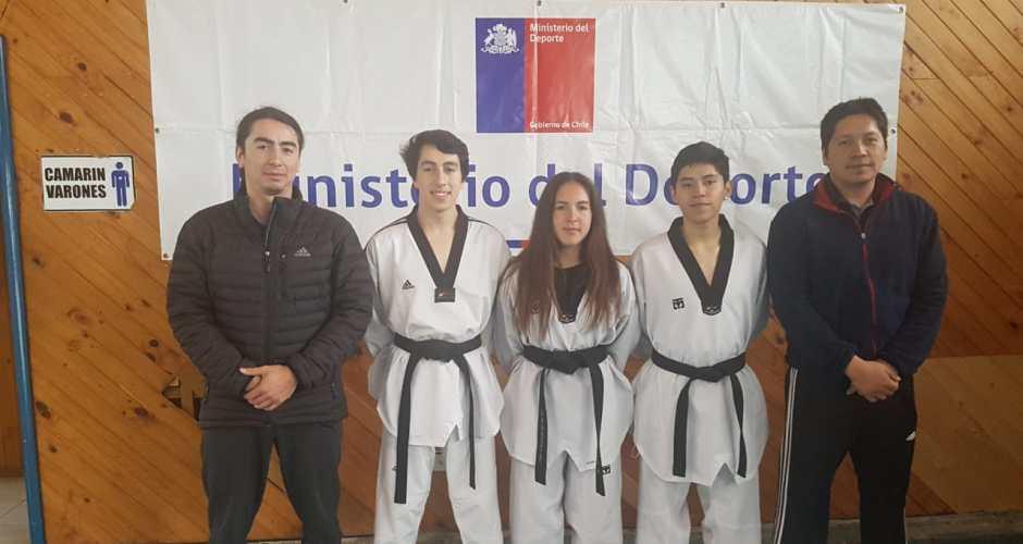 Impecable participación de club Taekwondo de Castro