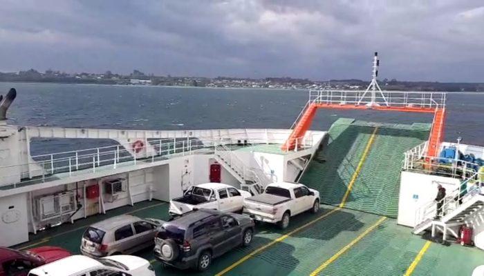 Chiloé: preocupación por alza de tarifas en transbordo canal de Chacao.