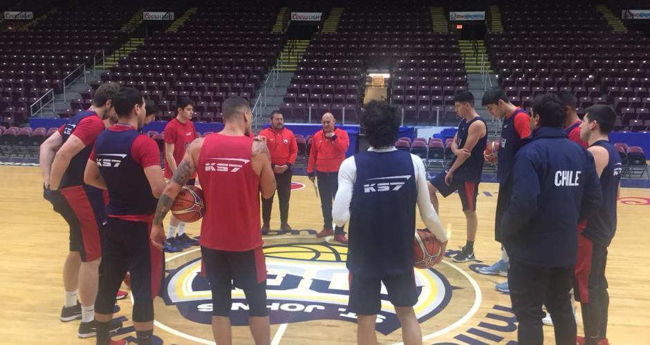Chile ya entrena en Canadá