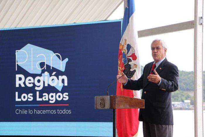 Regional: Presidente Piñera presentó Plan de Desarrollo de Los Lagos.