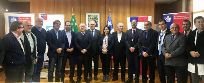 Chiloé: se firma millonario convenio de programación para la salud de la provincia.