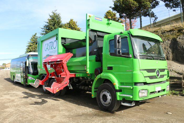Castro: adquieren nuevo camión para recolección de residuos domiciliarios.