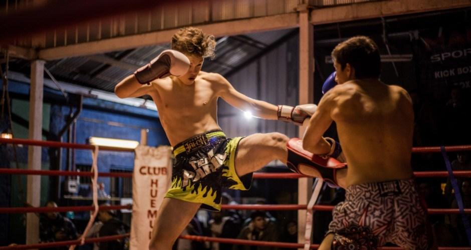Vicente Bertín sigue brillante en el Kick Boxing