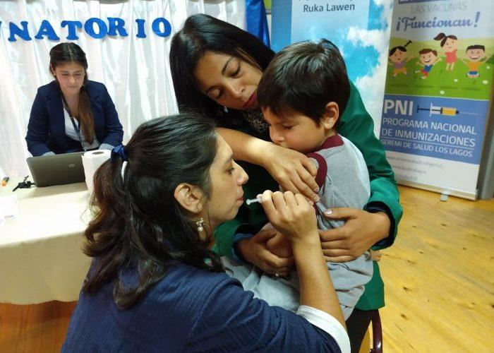 Chiloé: este viernes comienza redistribución de vacunas contra la Influenza.