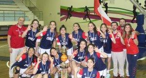 Chile fue tercero en sudamericano U 14