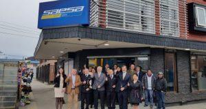 Castro: empresa eléctrica inaugura nuevas dependencias corporativas.
