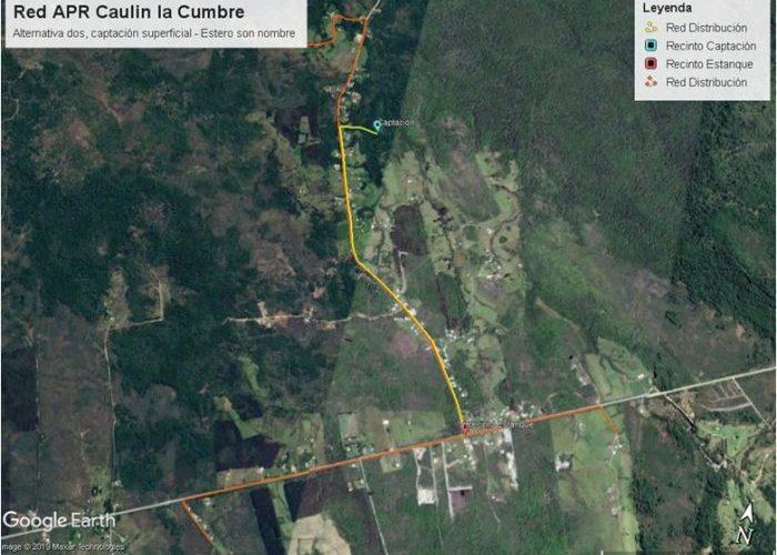 Ancud: vecinos de Caulín La Cumbre contarán con agua potable.