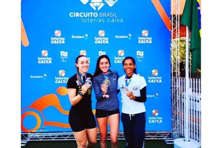 Amanda gana competencias en Sao Paulo
