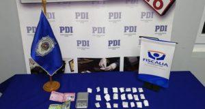 Ancud: detienen a persona sexo femenino por tráfico de drogas.