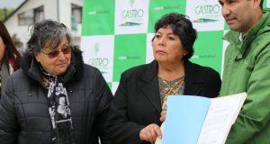 Castro: vecinos de Rilán contarán con nuevo sistema de tubería para distribución de agua potable.