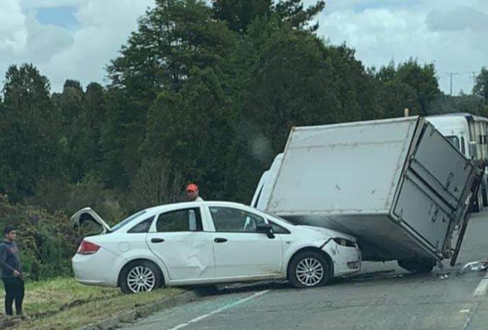 Ancud: accidente dejó seis personas lesionadas.