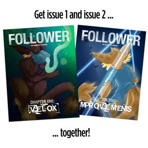 Follower 2-issue pack