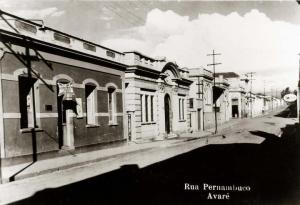 AVARE-1939-RUA PERNAMBUCO