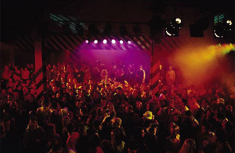 Hacienda as pictured in 24 Hour Party People