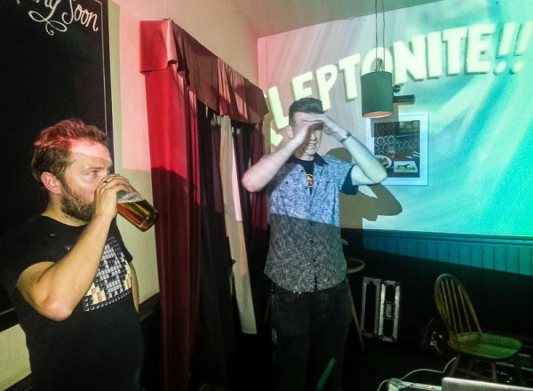 Pete and Eric Kleptone at Kleptonite