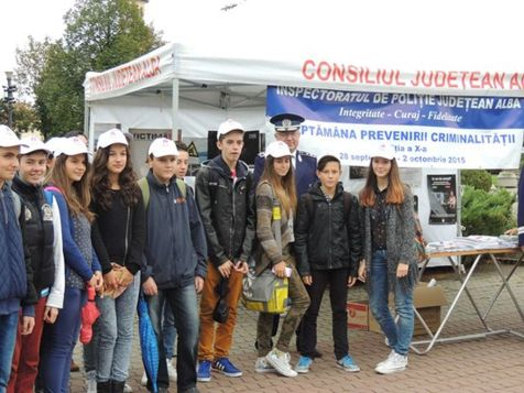 Săptămâna prevenirii criminalității Alba