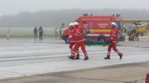 """""""Accident"""" aviatic pe aeroportul din Cluj"""