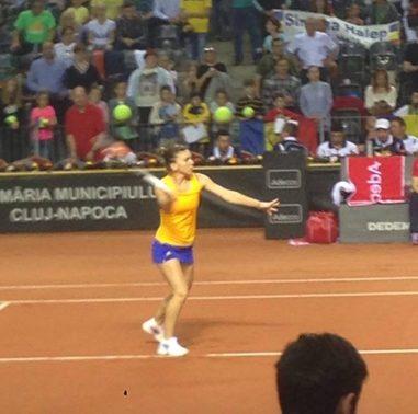 Simona Halep la FEDCUP 2016