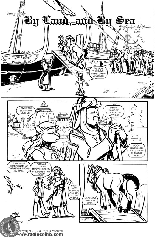 By Land, And By Sea Pg1