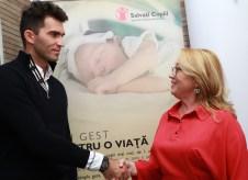 Horia Tecau & Gabriela Alexandrescu - Presedinte Executiv Salvati Copiii