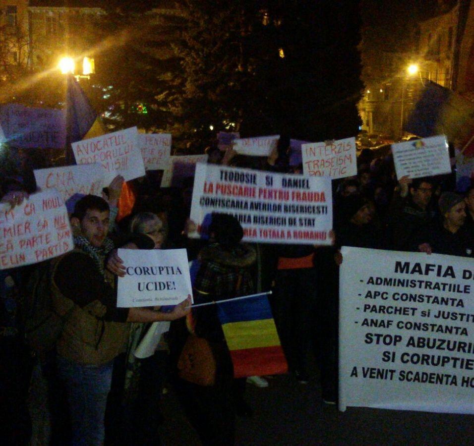 protest medgidia 1