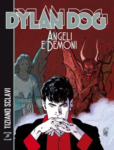 copertina dylan dog Angeli e Demoni-