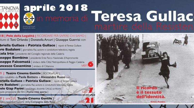 Cittanova ricorda Teresa Gullace con le nipoti Gabriella e Patrizia e il giornalista Piero Badaloni