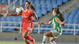 Liga femenina en Colombia