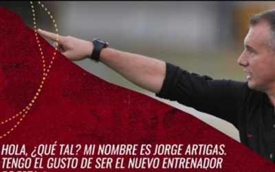Los retos de Jorge Artigas en la dirección técnica del Deportivo Pereira 2021