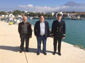 Σαμοθράκη και Αλεξανδρούπολη επισκέφθηκε ο Χρήστος Λαμπρίδης