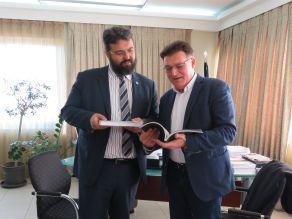 Συνάντηση Πέτροβιτς με τον Υφυπουργό Πολιτισμού και Αθλητισμού