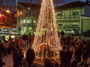 Χριστουγέννων φως Λεπτή