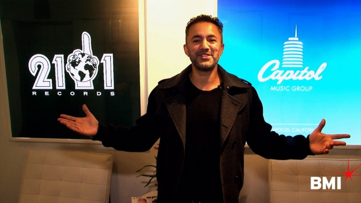 BMI Hits the Studio with Producer RedOne 1