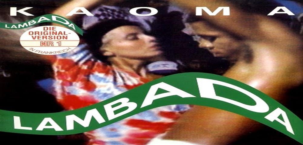 """I Kaoma con il brano """"Lambada"""" #1 delle hitchart nel settembre 1989."""