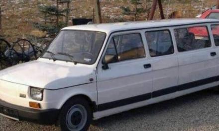Una Fiat 126 diventata Limousine