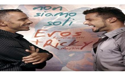 """Ottobre 2007: il brano """"Non siamo soli"""" del duo Ramazzotti & Ricky Martin #1 delle hitchart."""