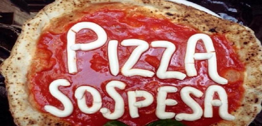 Pizza Sospesa: Arriva dopo il più famoso caffè