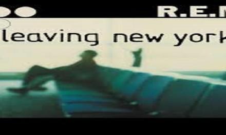 """Il brano """"Leaving New York"""" dei REM #1 delle hitchart dell'ottobre 2004."""