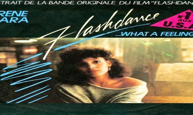"""Novembre 1983: il brano """"Flashdance"""" di Irene Cara #1 delle hitchart"""