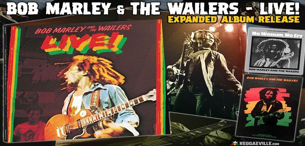 """Quarantadue  anni fa usciva """"Live"""" l'album di Bob Marley"""