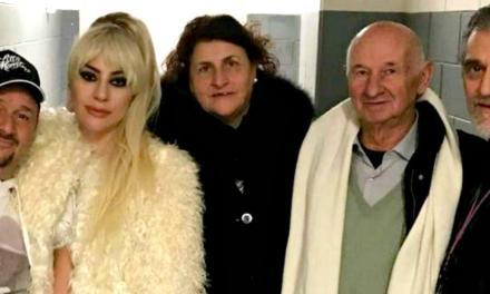 Lady Gaga incontra i parenti siciliani