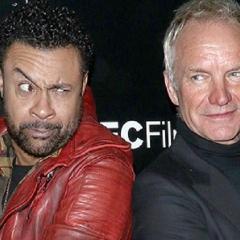Sting e Shaggy insieme sul palco del Festival di Sanremo